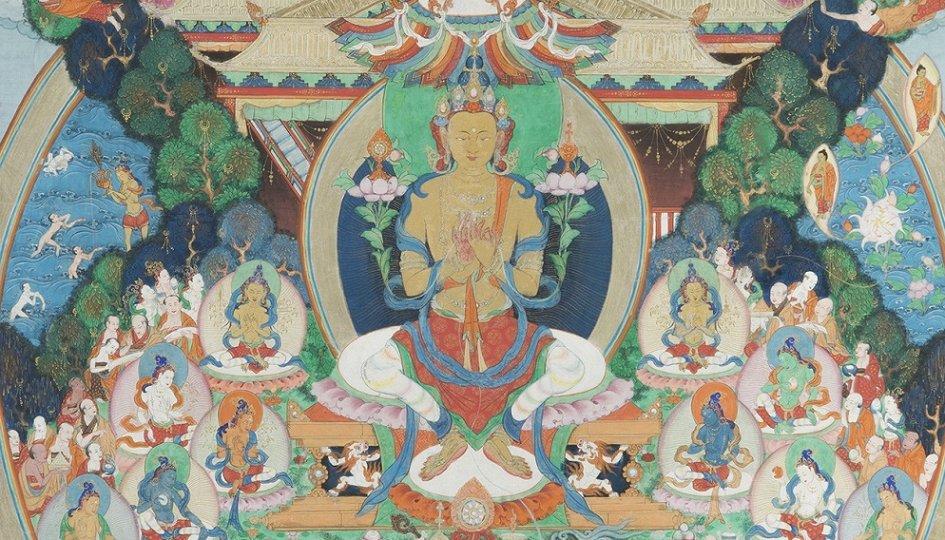 Выставки: Свой Восток. Буддийское искусство XIV–XX веков из музейных и частных собраний