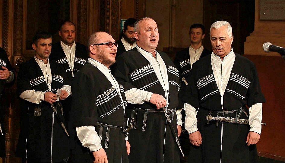 Концерты: Ансамбль грузинского многоголосия Acapella Saqartvelo