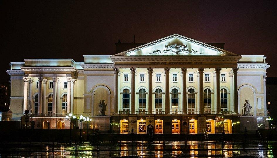 Тюменский драматический театр афиша театры нижнего новгорода купить билет