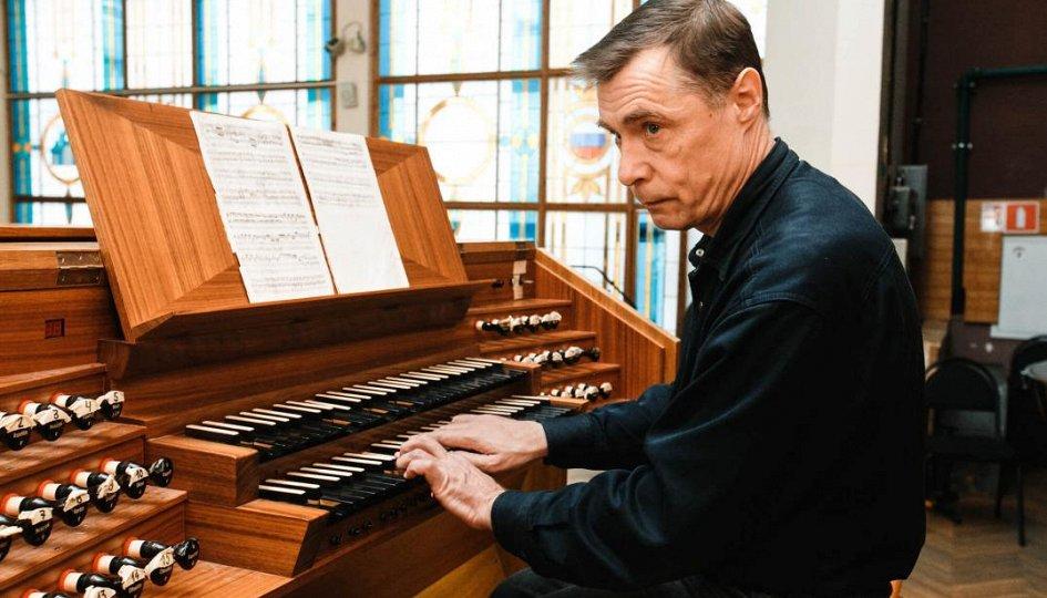 Концерты: «Органная музыка Франции»: Михаил Павалий