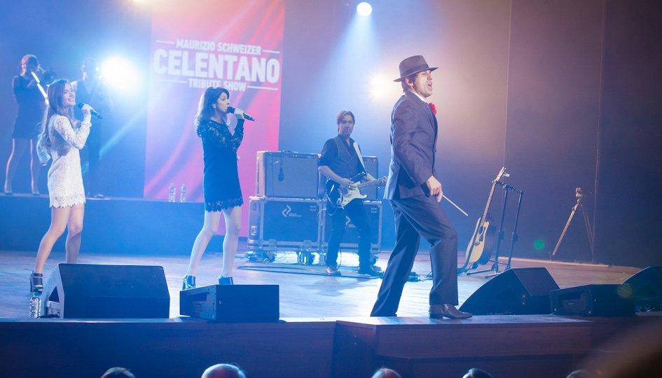 Концерты: «Celentano Tribute Show»: Маурицио Швейцер