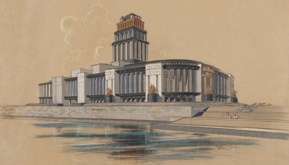 Выставки: Постконструктивизм, или Рождение советского ар-деко: Париж – Нью-Йорк – Москва