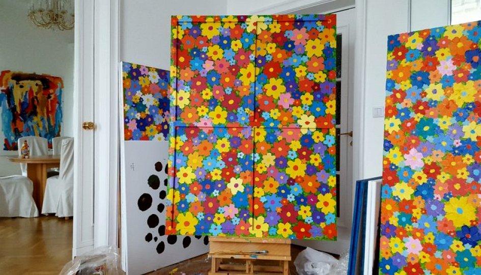 Выставки: Алекс Долль: Лихтенштейн. Цветы