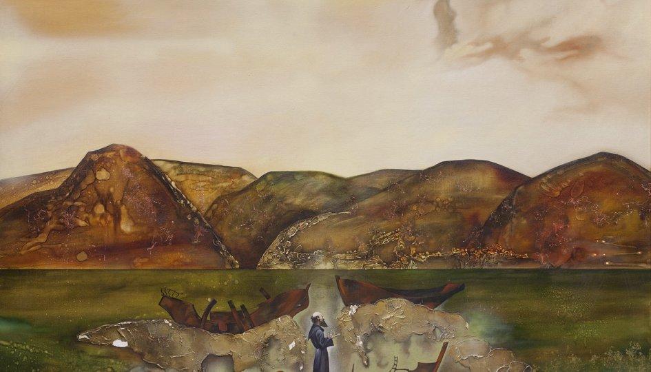 Выставки: Валерий Мошкин. Между двух миров