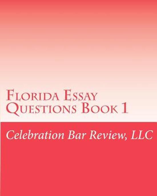 orida bar essay questions