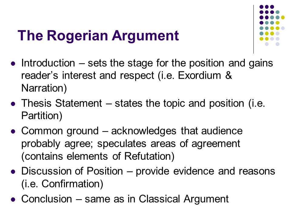 Write my rogerian argument essay topics