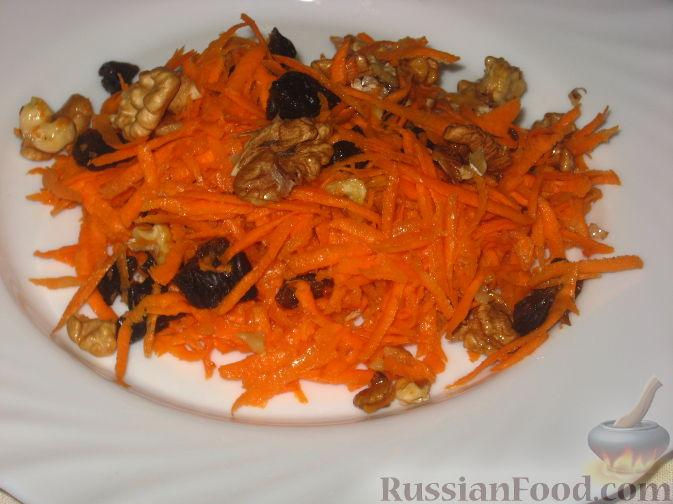 салаты из моркови с фото