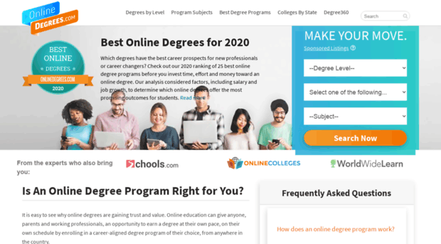 Desjardins 401k online degrees offer