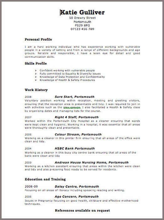 Employability skills from academic writing essays and reports best good cv examples images on pinterest career cv examples standout cv electrician cv sample yelopaper Choice Image