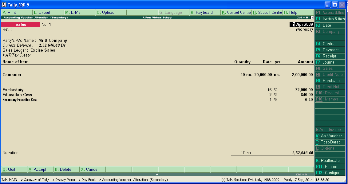 Tally ERP 9 CRACK With SERIAL key AND Activation