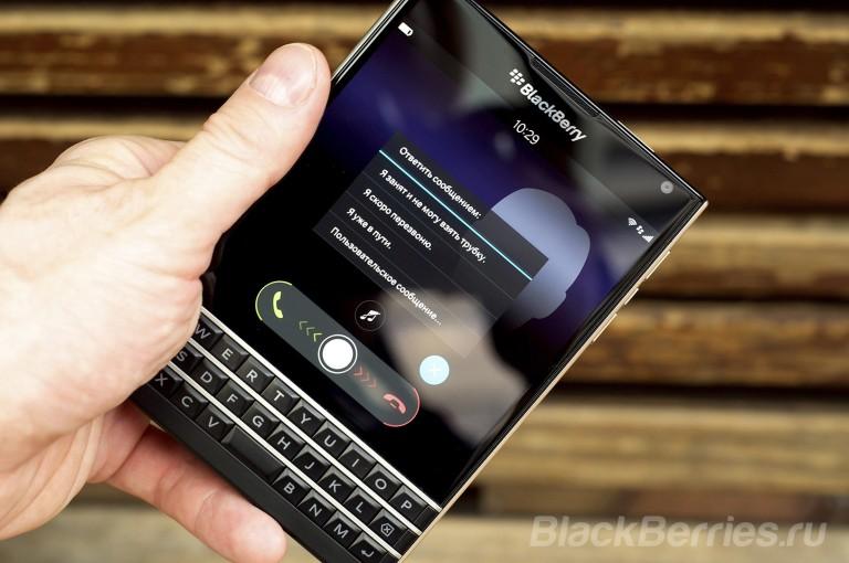 Mode emploi blackberry passport