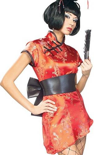Geisha costume girl