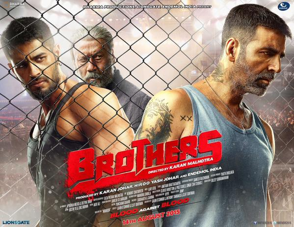 Brothers Movie (2015) - Akshay Kumar, Sidharth