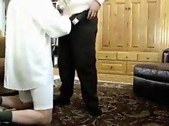 Sasha grey eats cum from ass