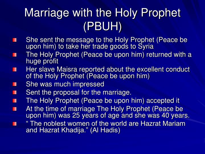 Write my our holy prophet pbuh essay