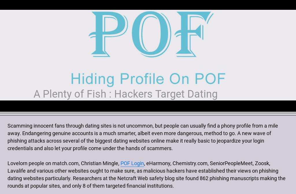 PlentyOfFish - Wikipedia