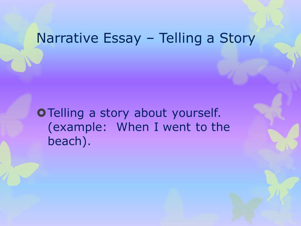 Write my storytelling essay