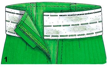 выкройка штанов в восточном стиле