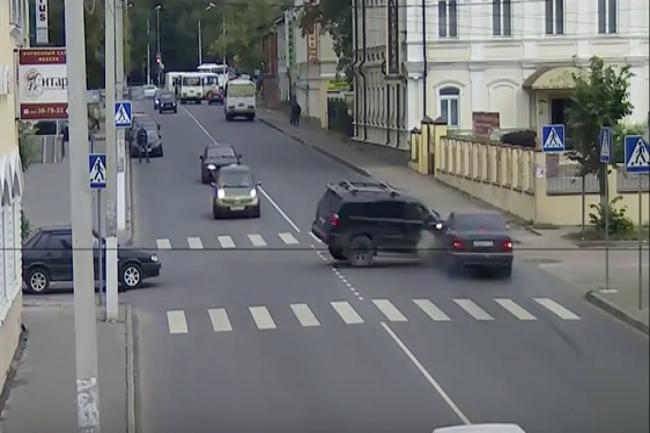 Видео аварии снятые на видеорегистратор
