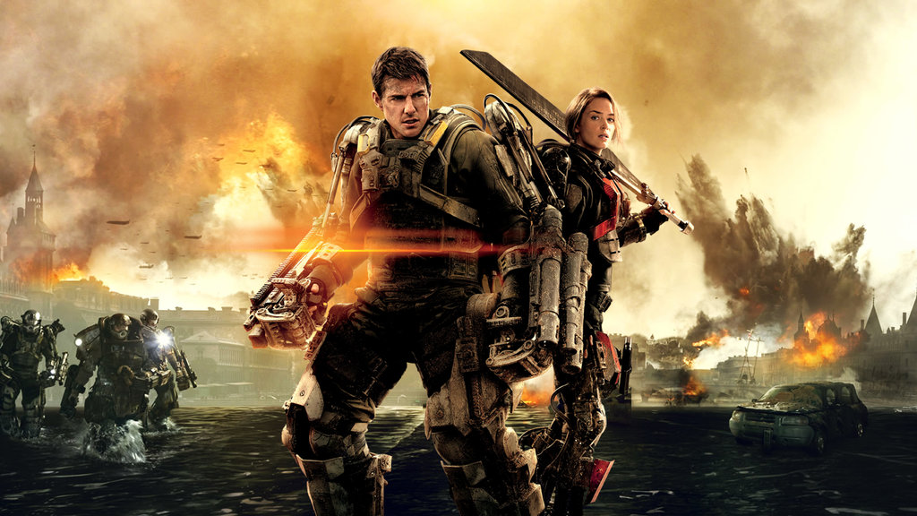 Edge of Tomorrow (2014) Hindi Dubbed BRRip Full Movie