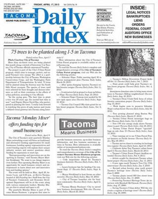 Tacoma business loans