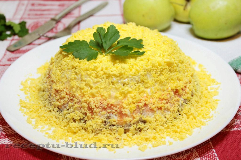 Салаты мимоза рецепты плавленным сыром фото