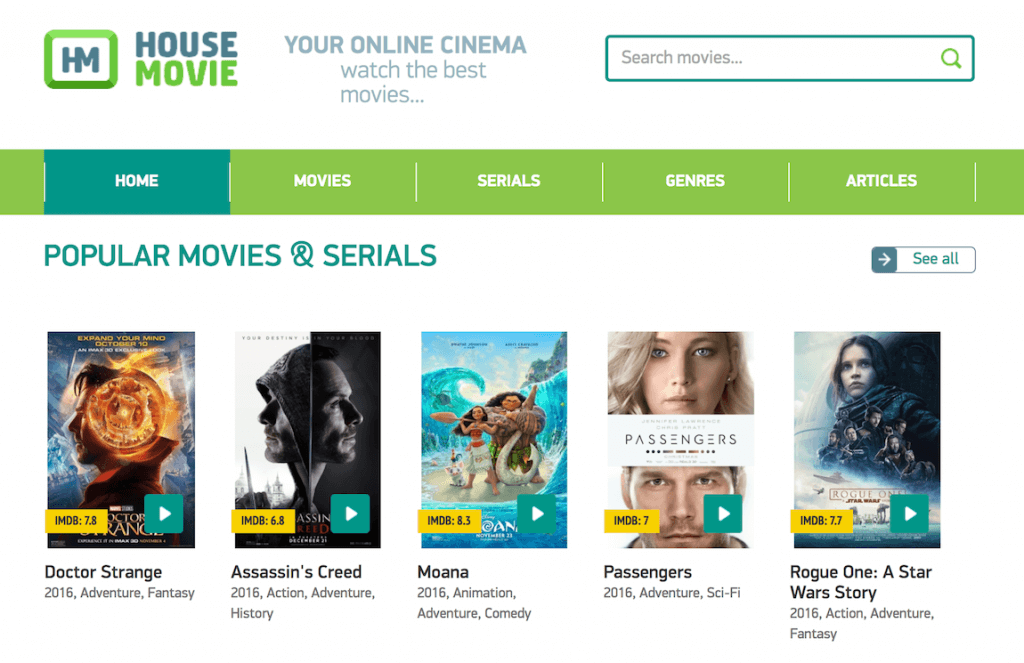 Top 25+ Free Movie Streaming Websites No Signup