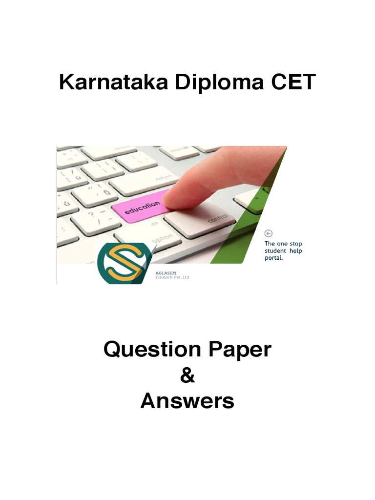 Karnataka cet biology question papers