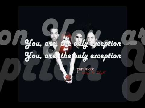 Paramore The Only Exception Mp3 Download