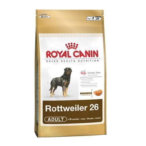 Корм royal canin junior rottweiler 12 кг