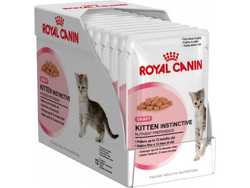 Корм royal canin instinctive gravy