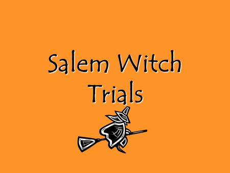 Write my salem witch trials research paper