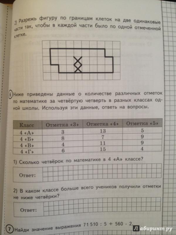 Впр по математике 7 класс с ответами