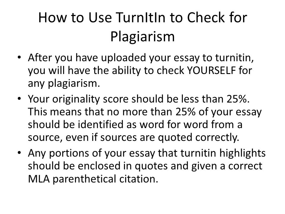 Demo Video — Plagiarism Checker - WriteCheck by Turnitin