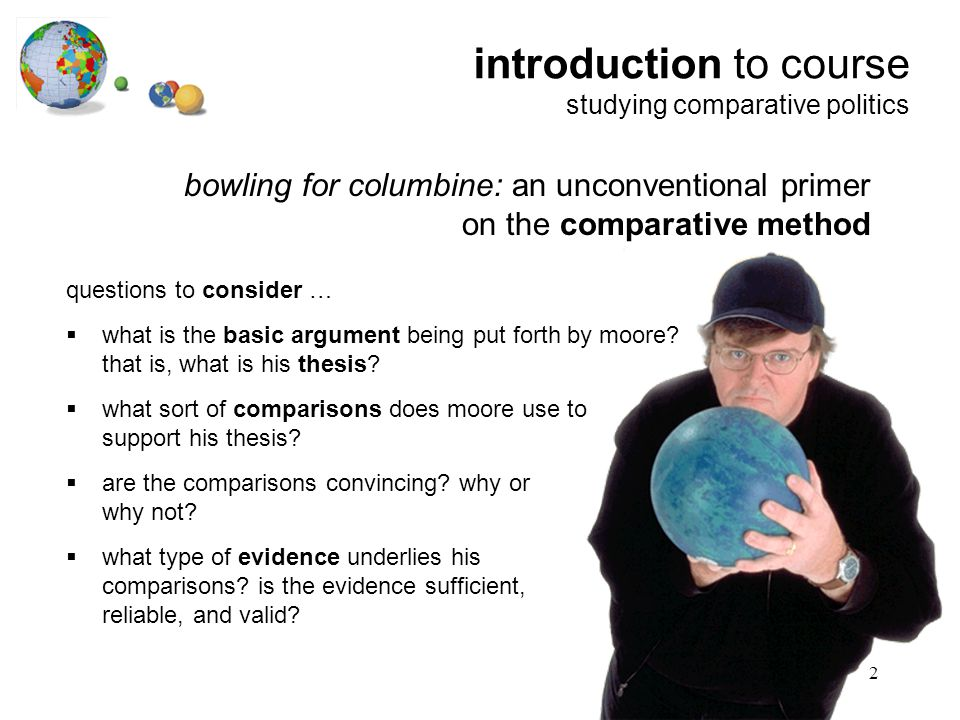 Bowling for columbine reaction essay thesis (creative