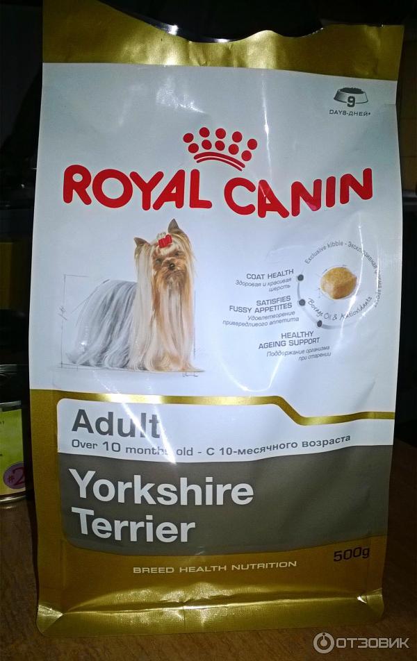 Корм для йоркширских терьеров корм royal canin