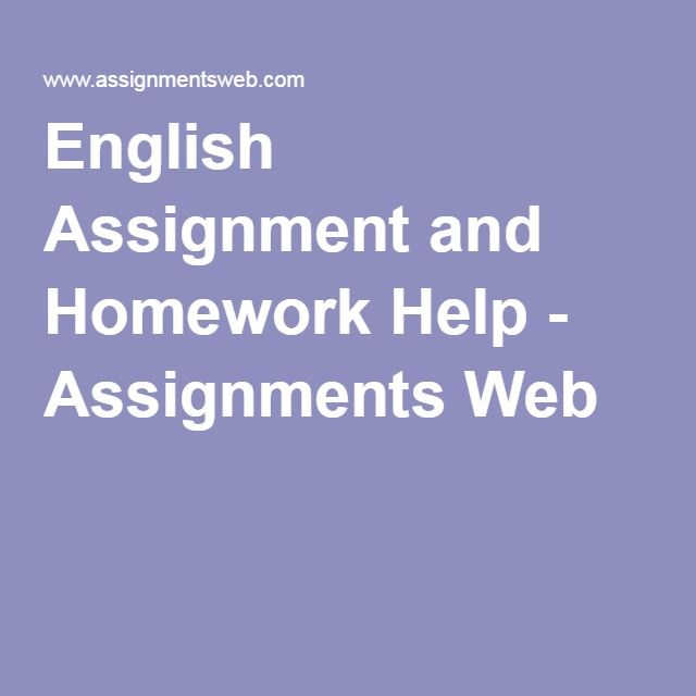 University Homework Help: Assignment and Homework Help