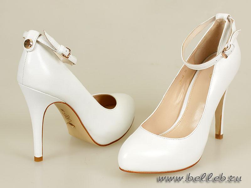 Белые туфли на каблуке купить спб