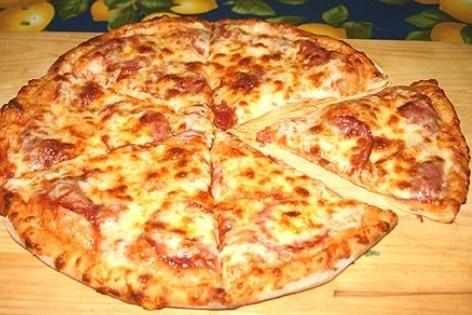 тонкая пицца рецепт с фото