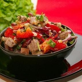 Салаты рецепт мясные