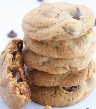 Рецепт Сливочно-арахисовое печенье сирисками