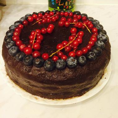 Рецепт Шоколадный торт смаскарпоне