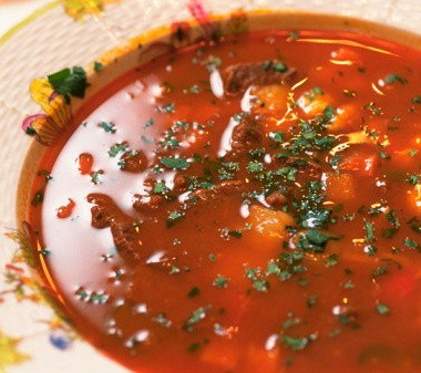 Рецепт Венгерский грибной суп