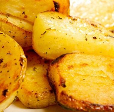Рецепт Картофель, запеченный слимоном иорегано