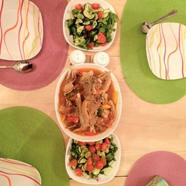 Рецепт Бешбармак по‑уйгурски