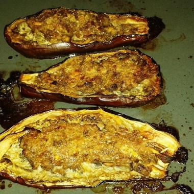 Рецепт Баклажаны смясом