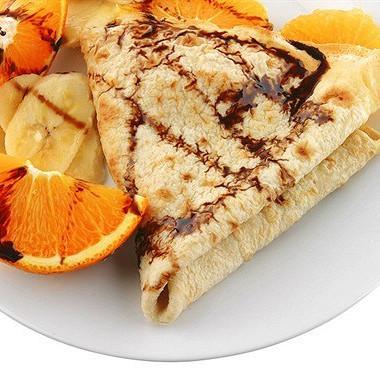 Рецепт Апельсиново-шоколадные блины