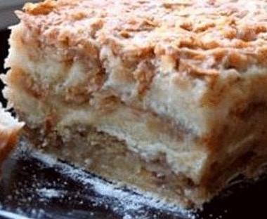 Рецепт Варшавский яблочный пирог створогом