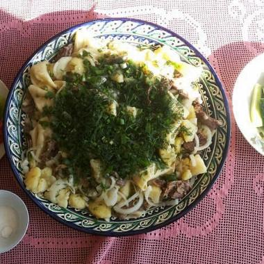 Рецепт Бешбармак казахский