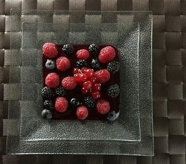 Рецепт Малина ичерника всиропе изкрасного вина